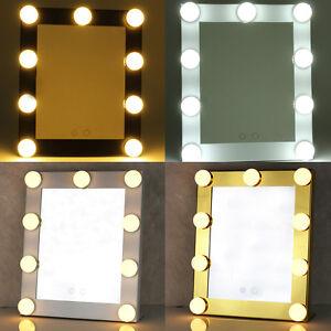 Miroir De Maquillage Écran Tactile 9LEDs Hollywood Éclairé Vanité Stade lumière