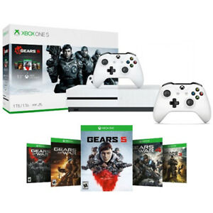 Xbox One S 1TB Gears 5 Console Bundle + Extra Xbox Wireless