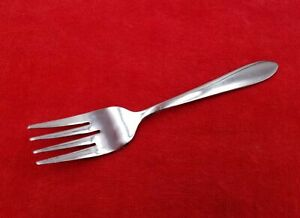 Salad-Fork-Mooncrest-by-Oneida-Stainless-Flatware-Silverware-Glossy-6-3-4-034