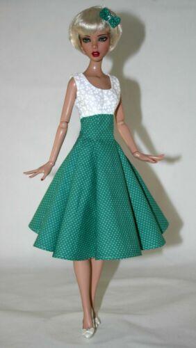 "1950/'s Swing Doll Clothes Sewing Pattern 16/"" Deja Vu Dolls Tonner"
