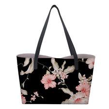 Fl Print Women S Designer Handbag Tote Shoulder Satchel Lady Large Hobo Bag