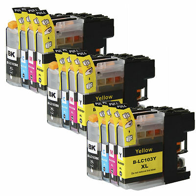 40 NON-OEM INK CARTRIDGE BROTHER LC-103XL LC-101 XL MFC-J6720DW MFC-J6520DW