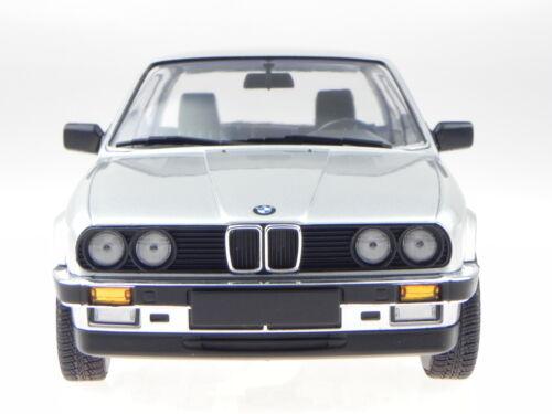 BMW e30 323i 2-Türer 1982 silber Modellauto 155026001 Minichamps 1:18