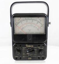 Simpson 260 Series 6 Analog Volt Ohm Milliammeter No Probes Used