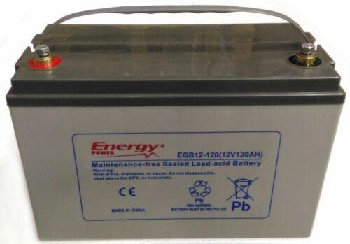 NAUTICA , CAMPER 20h x SERVIZI Batteria AGM GENERAL PURPOSE 120Ah