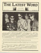 R.E.M. Fanclub Newsletter October 1993 Vol.2 No.9