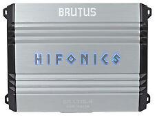 Hifonics Brutus BRX316.4 320w RMS 4-Channel Car Audio Amplifier Class A/B Amp