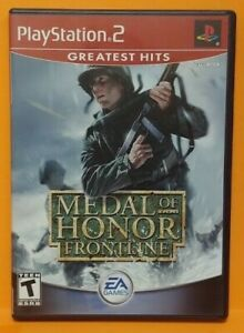 Medal of Honor Frontline  PS2 Playstation 2 COMPLETE Game 1 Owner  Mint Disc