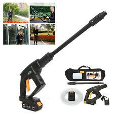 Wireless High Pressure Water Sprayer Gun Cleaning Tool Car Washer 3800rmin 110v