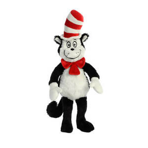 Dr-Seuss-Cat-In-the-Hat-Soft-Plush-Toy-15-034-Retro-Books