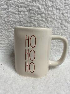 NEW-Rae-Dunn-HO-HO-HO-White-Glossy-Christmas-Holiday-Mug-2020