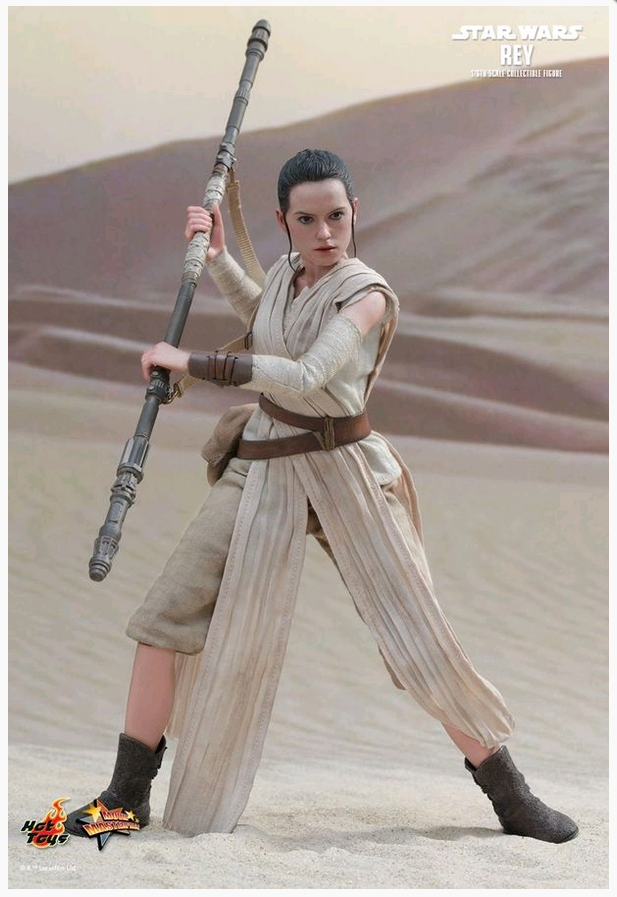 STAR WARS HOT TOYS REY 1:6 SCALE ACTION FIGURE HOTMMS336