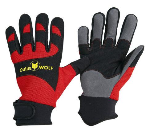 Gants Premium OUTILS WOLF Taille 9 GPR9