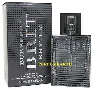 9961a2add1 Burberry Brit Rhythm By Burberry 3.0 oz./90ml Edt Spray For Men New ...