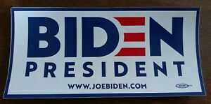 Joe Biden VP Senator Official 2020 President Campaign Bumper Sticker