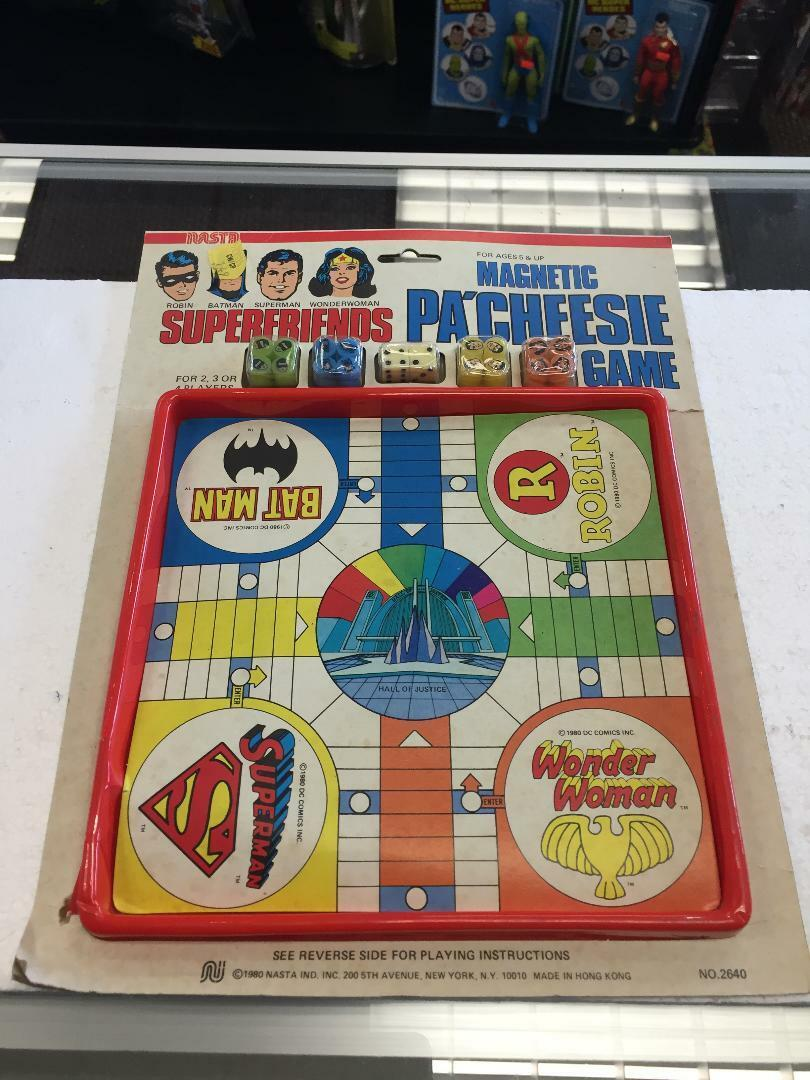 1980 juego Nasta magnética pa'cheesie súperfriends