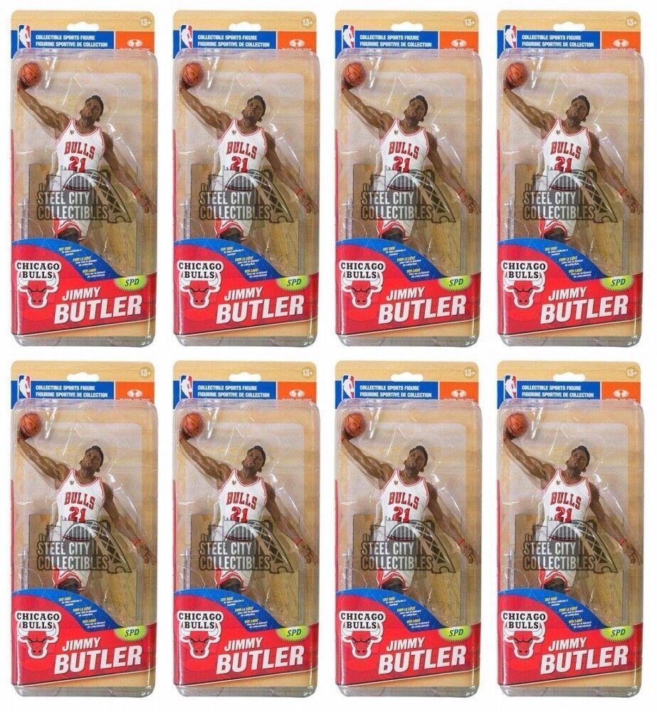 8ct Lot Jimmy Butler Bulls McFarlane NBA Series 28 bianca Chase Variant  1500