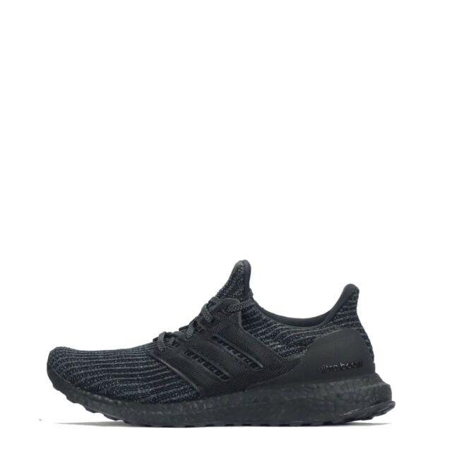 acf95ff94 adidas Ultraboost 4.0 Triple Black Men Running Shoes SNEAKERS ...