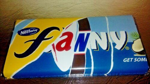 Fanny Barre De Chocolat nouveauté cadeau//cadeau fun cadeau peu Rude