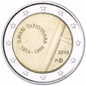 Finnland 2 Euro Münze Geburtstag Von Ilmari Tapiovaara 2014