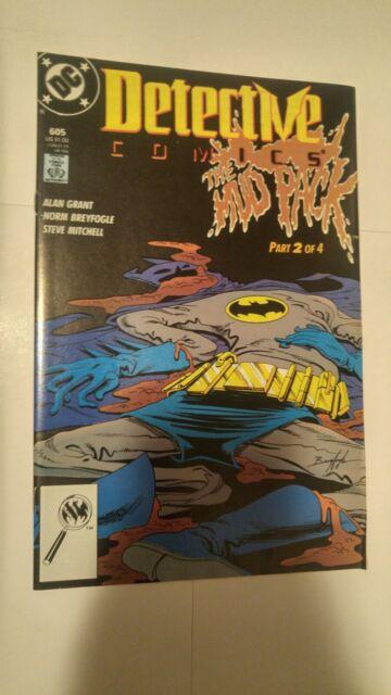Detective Comics #605 October 1989 DC Comics Grant Breyfogle Mitchell Batman