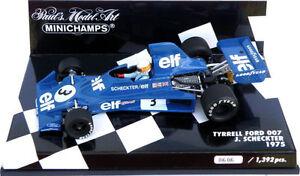 Minichamps-Tyrrell-Ford-007-1975-Jody-Scheckter-1-43-Escala
