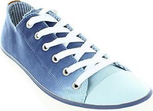 S-oliver-5-23609-28-Mujer-Azul-Marino-Lavado-De-Lona-Con-Cordones