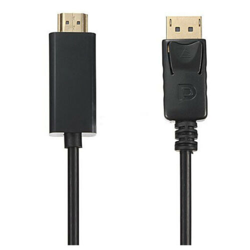 1080P 1.8m Displayport DP to HDMI Male AV Adapter Kabel for LCD HDTV PC Y7S2 AHS