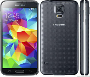 Unlocked-Samsung-Galaxy-S5-G900V-16GB-Rogers-Fido-Bell-Telus-AT-amp-T-Warranty