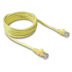 Belkin Cat-5e Patch Cable Yellow, 1000 Feet