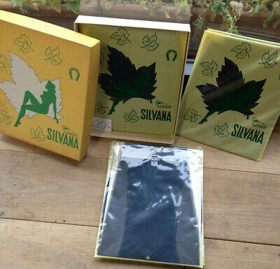 Accurato Lotto 6 Calze Da Reggicalze Silvana Ortalion Caroca Nero Seamless Vintage N.206 Asciugare Senza Stirare