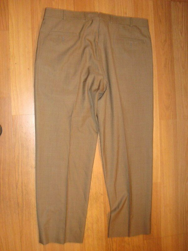 Brooks bredhers madison country club saxxon wool dress pants 38 31 EUC