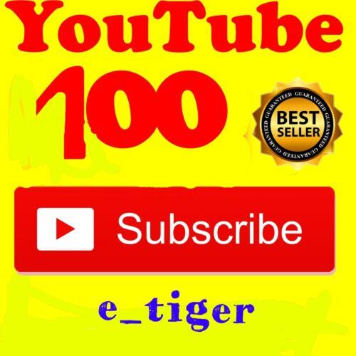 Promo 100 Youtube subscribêrsReal Human /& FastGuaraneed