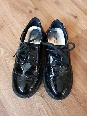 Girls School Shoes , Matalan, Black