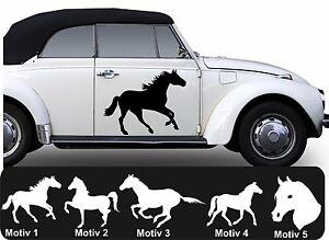 2x pferd aufkleber pferde pferdeaufkleber pferdeanh nger. Black Bedroom Furniture Sets. Home Design Ideas