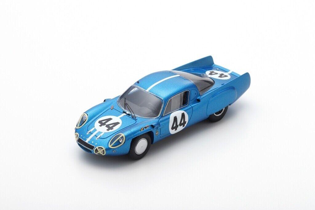 Spark S5491 - ALPINE A210 N°44 11ème 24H Le Mans 1966  J. Cheinisse - R.d  1/43