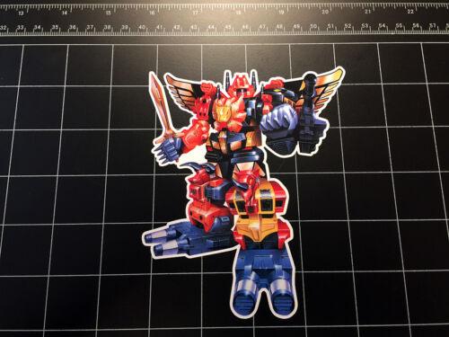 Transformers G1 PREDAKING Box Art Autocollant Vinyle Autocollant Decepticon predacons 80 S