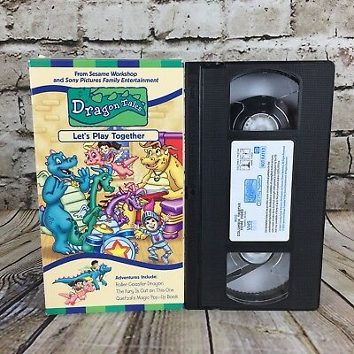 Dragon Tales Let S Play Together Columbia Tristar Home Entertainment Pbs Vhs Ebay