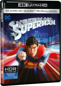 Superman, Blu-Ray 1 disco (No disco 4k)