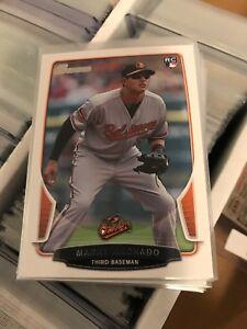 2013-MANNY-MACHADO-Bowman-RC-Rookie-Card-215-Orioles-Dodgers