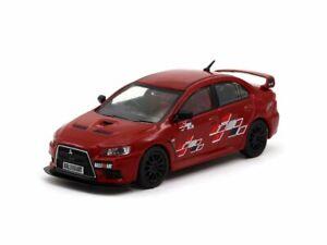 Mitsubishi-Lancer-Evolution-X-Ralliart-Rojo-Escala-1-43-por-obras-de-asfalto