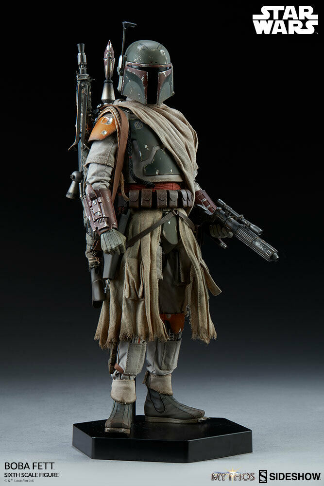 1 6 Scale Star Wars Boba Fett Mythos Sideshow Collectibles 100326
