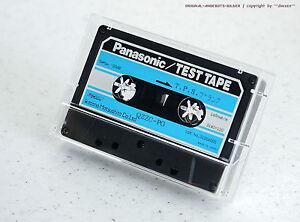 """Panasonic/Technics Qzzc-Pg """" T. P. S. Sweep -20db. """" Test Tape for Cassette Deck"""