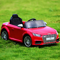 Audi TTS Kids Children Electric Ride On Car Toy Wheels W/ Remote Control RC Red
