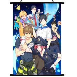 3049-Hot-Anime-Free-Swim-club-print-Poster-Wall-Scroll-cosplay-A
