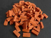 100 1:12th Scale Miniature Dolls House Briquette Bricks