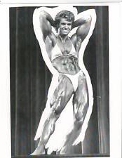 MARJO SELIN Ms Olympia Stage Bodybuilding Fitness Photo B+W