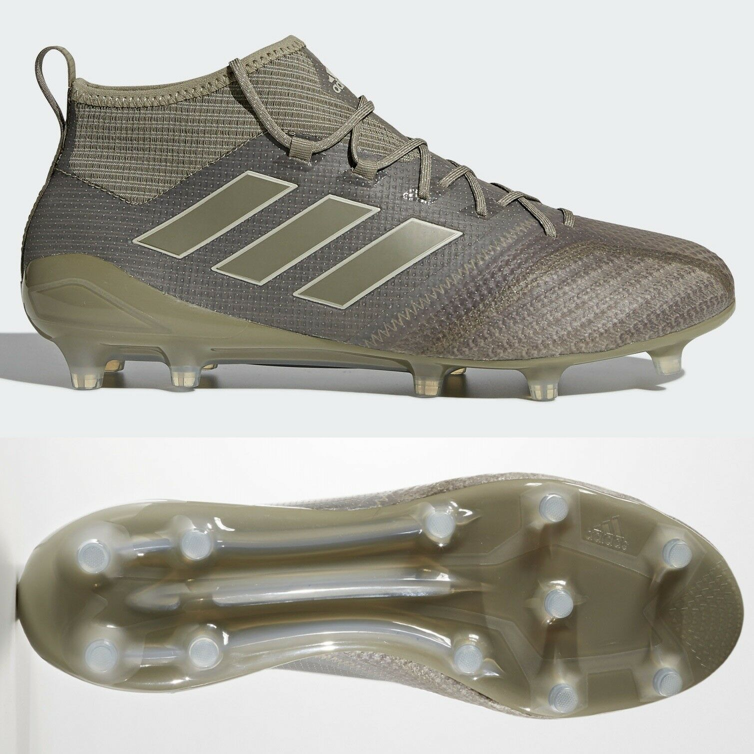 new style 521b9 6e20a adidas Ace 17.1 FG Mens Football Boots Brown Clay BY2189 RRP £220 SIZES 6-12
