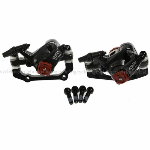 AVID BB7 MTB Disc Bike Brakes set Front /& Rear Calipers with 160mm G3 Rotors