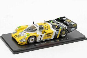 SPARK 1:43 Porsche 956 # Nr. 7 Le Mans Sieger 1984 Klaus Ludwig Henri Pescarolo